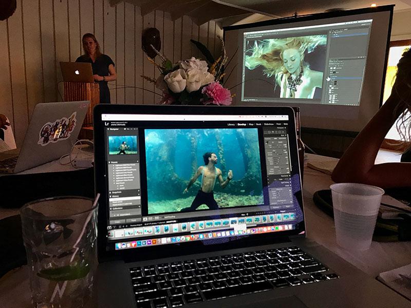 underwater fashion with zena holloway